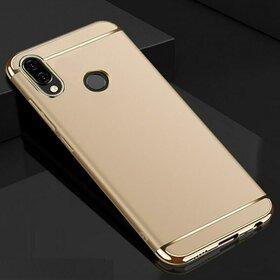 Husa 3 in 1 Luxury pentru Huawei Y9 (2019) Gold