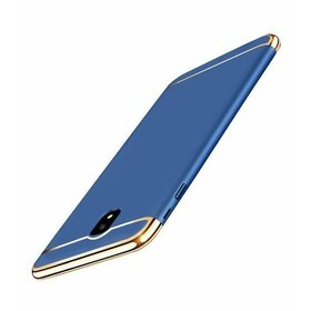 Husa 3 in 1 Luxury pentru J4 (2018) Blue