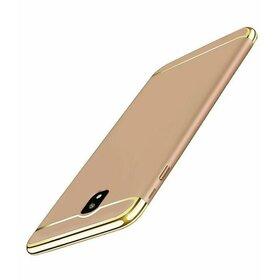 Husa 3 in 1 Luxury pentru J7 (2017) Gold