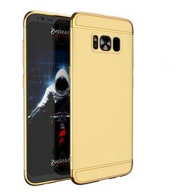 Husa 3 in 1 Luxury pentru S8 Gold