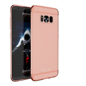Husa 3 in 1 Luxury pentru S8 Plus Rose Gold