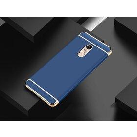 Husa 3 in 1 Luxury pentru Xiaomi Redmi Note 4 Blue