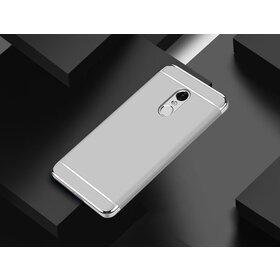 Husa 3 in 1 Luxury pentru Xiaomi Redmi Note 4 Silver