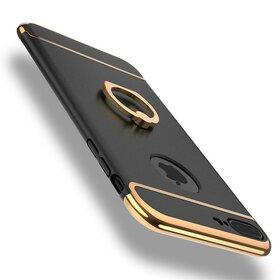 Husa 3 in 1 Matte cu inel pentru iPhone 7 Plus