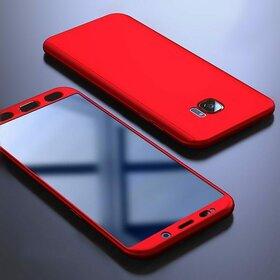 Husa 360 pentru Galaxy S6 Edge Red