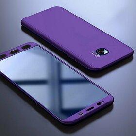 Husa 360 pentru Galaxy S7 Purple