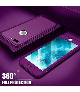 Husa 360 pentru iPhone 7/iPhone 8 Purple