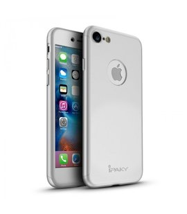 Husa 360 pentru iPhone 7/iPhone 8 Silver