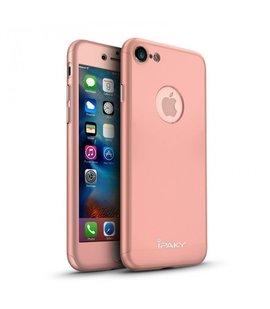 Husa 360 pentru iPhone 7/iPhone 8 Rose Gold