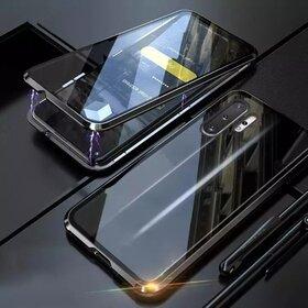 Husa 360 Magnetica cu Sticla fata + spate pentru Galaxy Note 10 Black