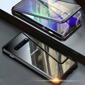 Husa 360 Magnetica cu Sticla fata + spate pentru Galaxy S10 Black
