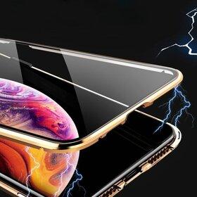 Husa 360 Magnetica cu Sticla fata + spate pentru iPhone X/ iPhone XS