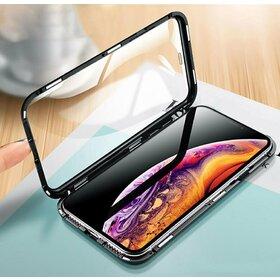 Husa 360 Magnetica cu Sticla fata + spate pentru iPhone XS MAX