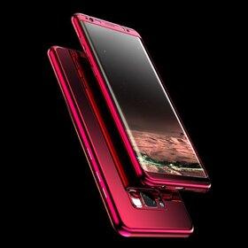 Husa 360 Mirror pentru Galaxy J5 (2017) Red