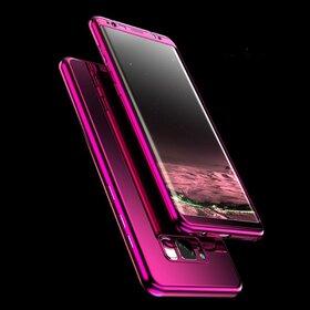Husa 360 Mirror pentru Galaxy J5 (2017) Purple