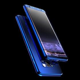 Husa 360 Mirror pentru Galaxy J5 (2017) Blue
