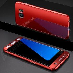 Husa 360 Mirror pentru Galaxy S7 EDGE Red