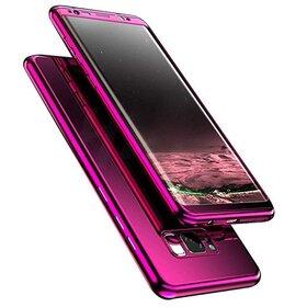 Husa 360 Mirror pentru Huawei P20 Lite (2018) Purple
