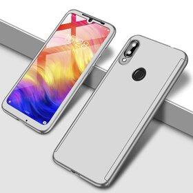 Husa 360 pentru Galaxy A20/ Galaxy A30 Silver