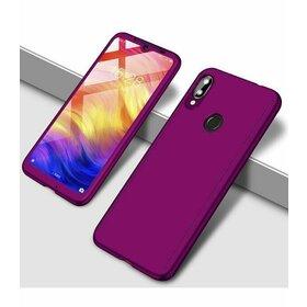 Husa 360 pentru Galaxy A40 Purple
