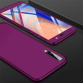 Husa 360 pentru Galaxy A50 Purple