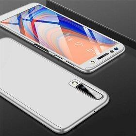 Husa 360 pentru Galaxy A50 Silver