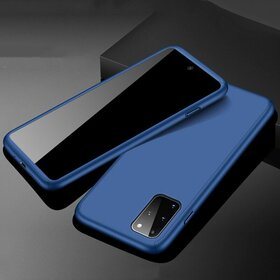 Husa 360 pentru Galaxy A51 Navy