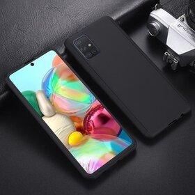 Husa 360 pentru Galaxy A51 Black