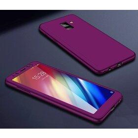 Husa 360 pentru Galaxy A6 (2018) Purple