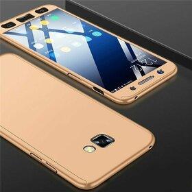 Husa 360 pentru Galaxy A7 (2017) Gold
