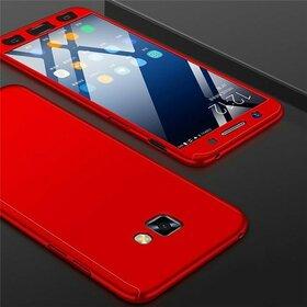 Husa 360 pentru Galaxy A7 (2017) Red