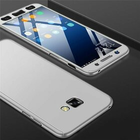 Husa 360 pentru Galaxy A7 (2017) Silver