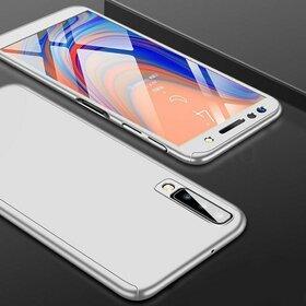 Husa 360 pentru Galaxy A7 (2018) Silver