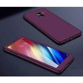 Husa 360 pentru Galaxy A8 (2018) Purple