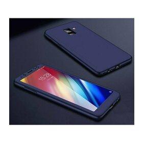 Husa 360 pentru Galaxy A8 (2018) Navy