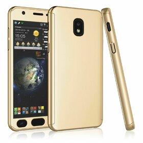 Husa 360 pentru Galaxy Grand Prime Pro (J250FD - J2 Pro 2018) Gold