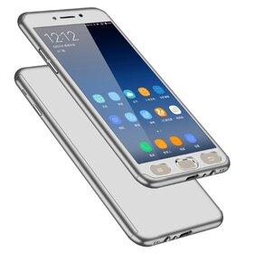 Husa 360 pentru Galaxy J4 Plus (2018) Silver
