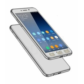 Husa 360 pentru Galaxy J6 (2018) Silver
