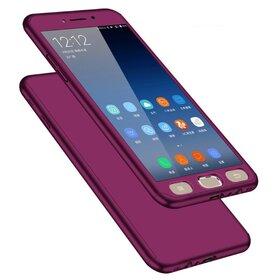 Husa 360 pentru Galaxy J6 Plus (2018) Purple