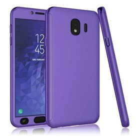 Husa 360 pentru Galaxy J8 (2018) Purple