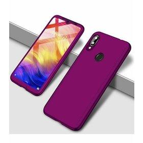 Husa 360 pentru Galaxy M20 Purple