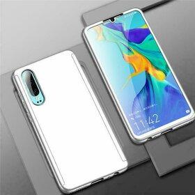Husa 360 pentru Galaxy Note 10+ Silver