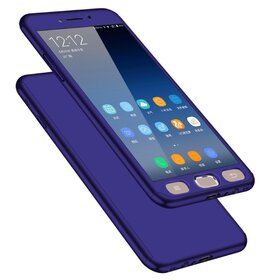 Husa 360 pentru Galaxy Note 4 Blue