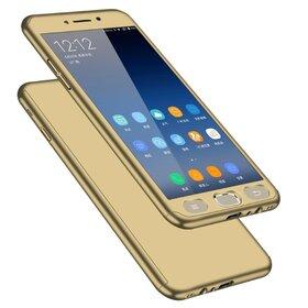 Husa 360 pentru Galaxy Note 4 Gold