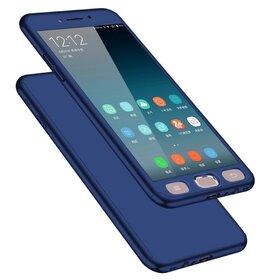 Husa 360 pentru Galaxy Note 4 Navy