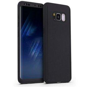 Husa 360 pentru Galaxy S8 Plus Black
