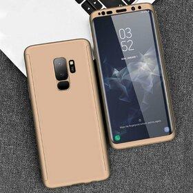 Husa 360 pentru Galaxy S9 Plus Gold