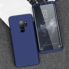Husa 360 pentru Galaxy S9 Plus Navy