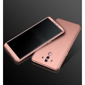 Husa 360 pentru Huawei Mate 10 Rose Gold