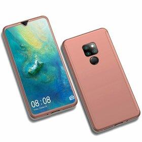 Husa 360 pentru Huawei Mate 20 Rose Gold
